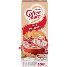 Advertisement i made it print Nestle 35110 Coffee Mate Original Flavor Creamer Single Serve Portions 50 Box Amazon Com Grocery Gourmet Food