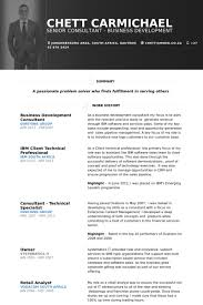 Business Development Consultant Resume Samples Visualcv Resume