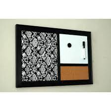 black and white damask french memo