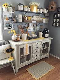 50 breakfast nook ideas to get your creative juices flowing. 30 Stylish Home Coffee Bar Ideas Stunning Pictures Included Coffee Bar Home Home Coffee Bar Home Decor
