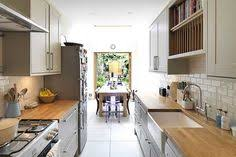 Exellent Kitchen Design Narrow Long Ideas Designs And Cabinets To