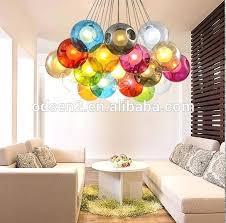 hanging ball chandelier glass australia bubble hanging glass chandelier