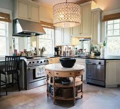 Here is another inspiration - a round kitchen island.