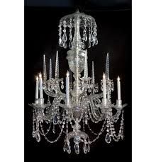 irish waterford crystal chandelier 8 lights