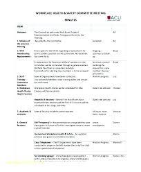 Meeting Agenda Sample Doc Fascinating Safety Meeting Agenda Template Arabnorma