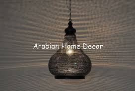 moroccan black oxidize brass pendant lighting hanging lamp