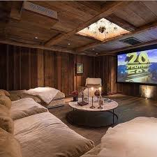 basement home theater room. considering a home theater? see all theater basics, design considerations \u0026 furniture suggestions. need help with your installation? basement room