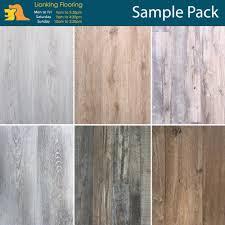 7mm wpc vinyl flooring plank sample pack hard wearing and waterproof easy diy