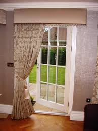 dry ideas provided in the curtain door terrace is how to install curtains