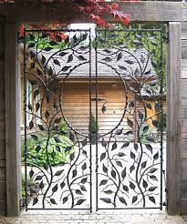 garden gates and railings metal