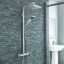 milan modern thermostatic shower