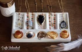 DIY Jewelry Display Dish