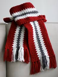 Striped Scarf Knitting Pattern Awesome Decorating