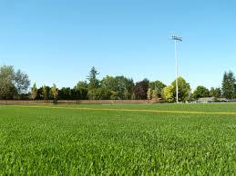 grass field. George Fox University, Newberg, OR Grass Field