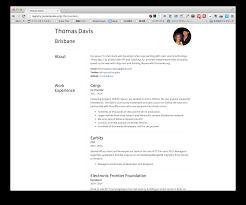 Json Resume resume json 100 images 履歴書をjsonで管理 パスワード付きで公開 37