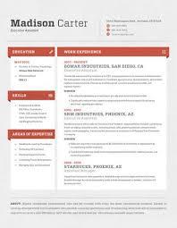 ... Warm Contemporary Resume 8 Contemporary Resumes Loft ...