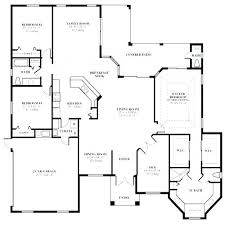 Floor Plan Blueprint Maker Home Decor 3 Bedroom House Floor Plans With 3  Room Building Blueprint