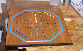 Wooden Marble Game Board Aggravation Classic wood Aggravation board game w marbles wooddesigner on 24