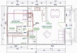 20x30 1 1 2 story cottage the floorplan above shows a small