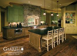 Ranch House Kitchen Garrell Associates Inc Amicalola Cottage House Plan 05168