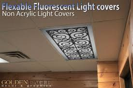office ceiling light covers. change the look of any fluorescent light fixture with our special lens covers from golden office ceiling e