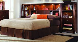 Bookcase Bedroom Furniture Headboard Bookcase Headboard Designs