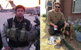 managing the transition from military to civilian al jazeera america brandon webb in in 2002 left and his dog castor in texas