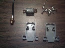 the vga plug and wi fi antenna cable