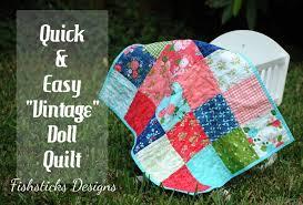 Vintage Doll Quilt Tutorial | Skip To My Lou & fd1main Adamdwight.com