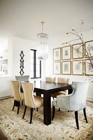 picture frame wall art ideas dining room transitional with upholstered dining chair gallery wall rectangular dining on transitional framed wall art with picture frame wall art ideas dining room transitional with