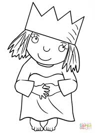 Little Princess Coloring Page Free Printable Coloring Pages Face