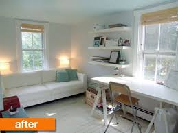 guest room office combo. Amazing Guest Bedroom Office Combo With Before After A Stylish And Room