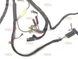 triumph 1969 tr6c genuine nos lucas wiring harness triumph 1969 tr6c genuine nos lucas wiring harness 54955719