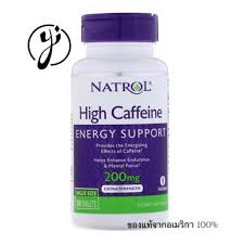 Natrol <b>High Caffeine</b>, <b>Extra Strength</b> 200mg, 100 Tablets | Shopee ...