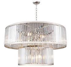 Casa Padrino Luxus Kristallglas Kronleuchter Silber ø 90 X H