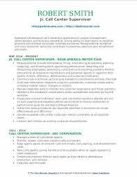 Sample Resume For A Call Center Agent Call Center Supervisor Resume Samples Qwikresume