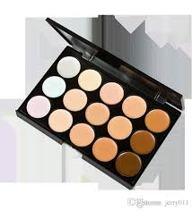 new professional salon party concealer contour face cream makeup palette y641 b palette knife palette palette glitter with 1 63 set on