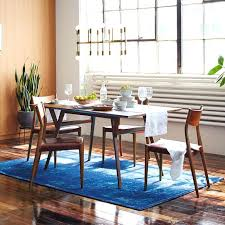 mid century modern dining room chairs mid century modern dining room table