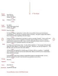 Purdue Owl Business Letter The Letter Sample