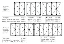 closet door width sizes examples doors designs ideas bi fold standard barn interior closets sliding d