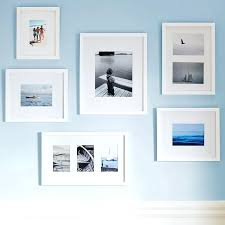 gallery frame set gallery perfect 9 piece picture frame set white