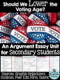should the voting age be lowered to essay press conference to lower the voting age in california