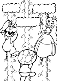 Mario Kart Coloring Pages For Kids Printable With Coloring Pages