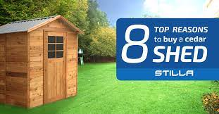 the top 8 reasons to a cedar shed
