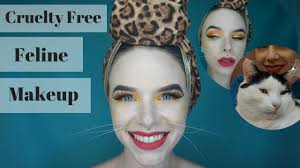 tiger makeup tutorial free real whiskers take five and thrive