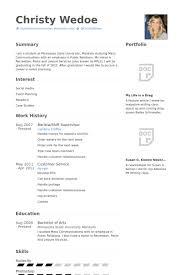 baristashift supervisor resume samples supervisor resume sample