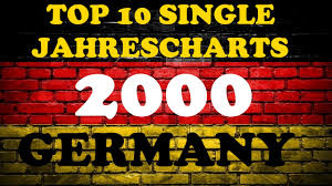 2000 Charts Top 10 Single Jahrescharts Deutschland 2000 Year End Single Charts Germany Chartexpress