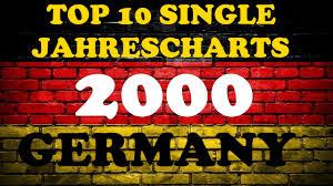 Top 10 Single Jahrescharts Deutschland 2000 Year End Single Charts Germany Chartexpress