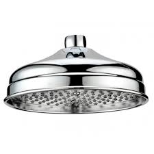 butler rose traditional 200mm round shower head