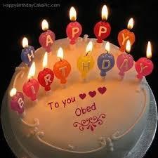 Happy Birthday My Love Obed